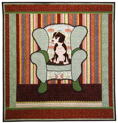 Beagle Chair by Linda Axford