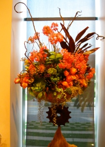 Big orange arrangement