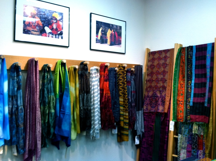 Color Loom - Silk Scarves