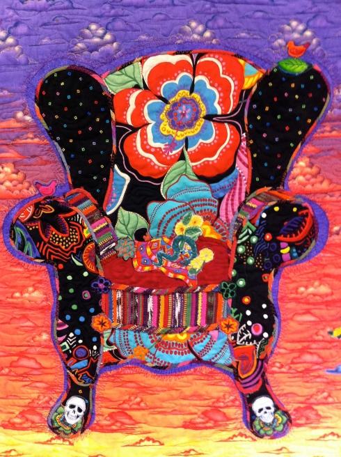 Frida Chair - chair close up
