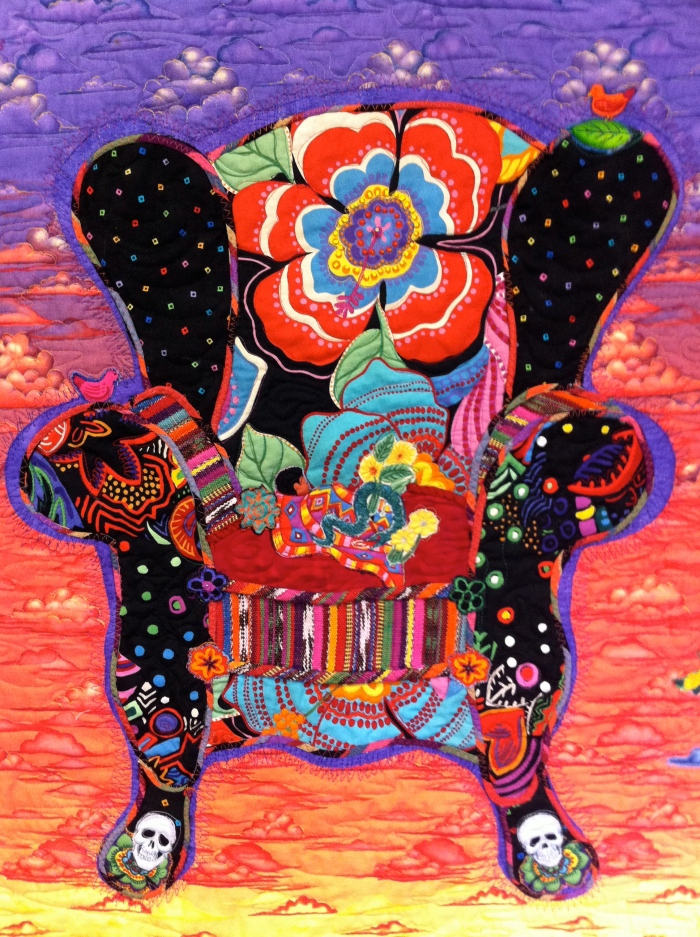 Frida Chair - chair close up