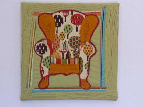 Chris's Tree Chair Quilt
