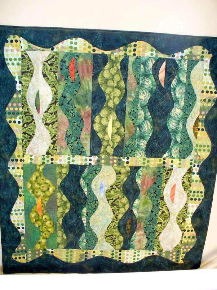 Green Goddess quilt