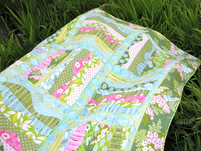 Goddess Flowers Quilt