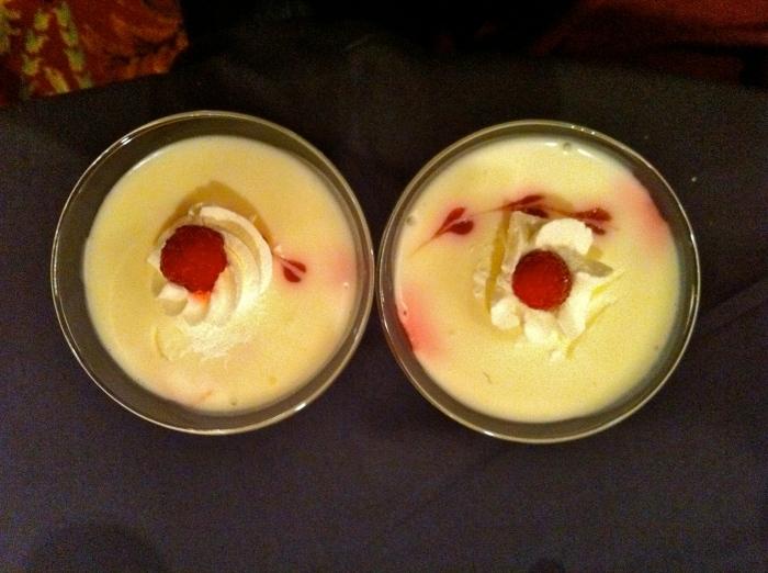 For dessert?