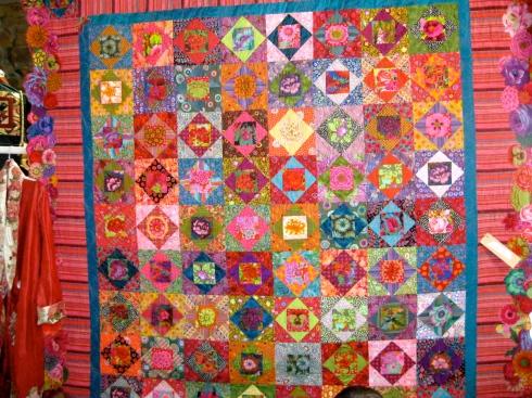 Floral Fiesta quilt