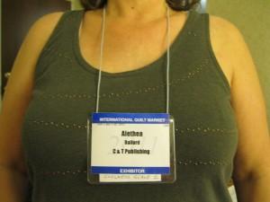 Neck Badge example