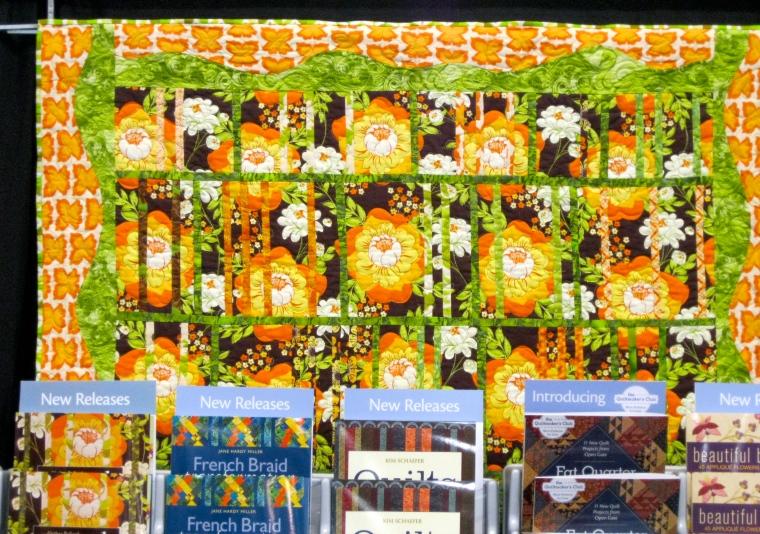 Ginger Jalousie quilt, by Alethea Ballard