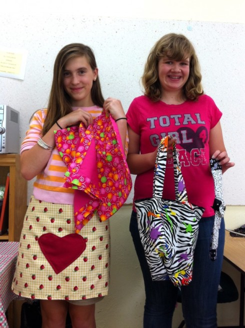 Aprons, placemats, and tote bags!