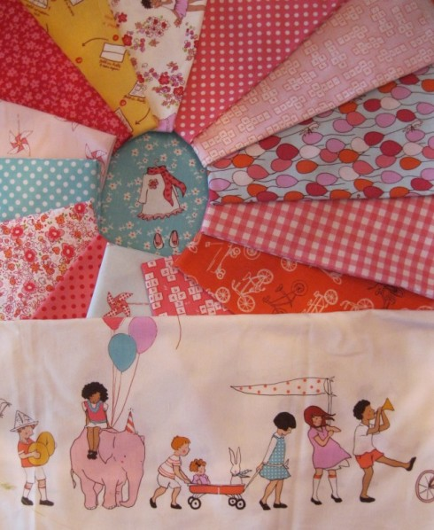 'Children at Play' by Sarah Jane for Michael Miller Fabrics
