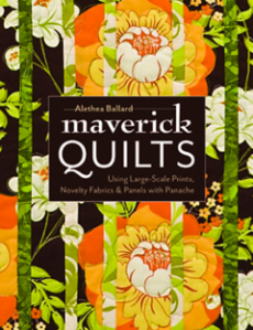 Maverick Quilts, Using Large-Scale Fabrics, Novelty Prints & Panels with Panache