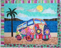 Gotta' Love my Bus - pattern from BJ Designs