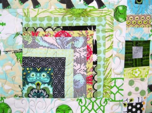The Tula Pink fabric, Prince Charming