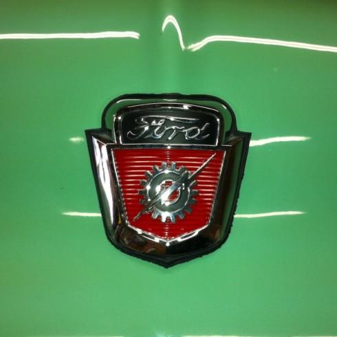 Ford truck hood