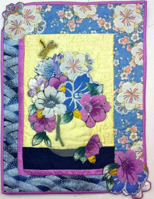 Shibori Bouquet, by Margaret Linderman