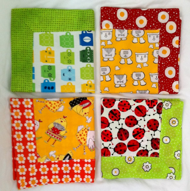 Square napkins