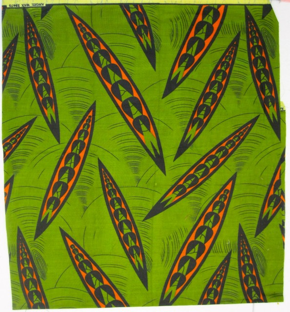 Waxed Batik from Africa (modern)