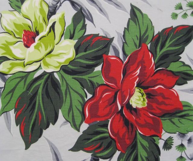 Vintage Magnolia fabric
