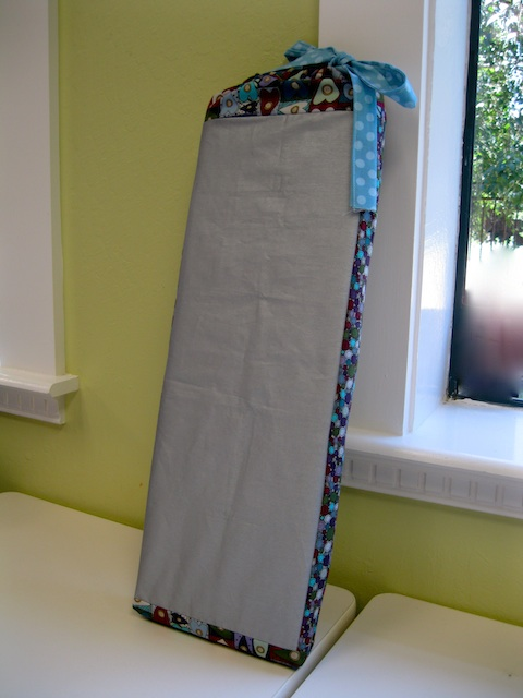 Ironing Board Cover with an insert of ironing board cover fabric