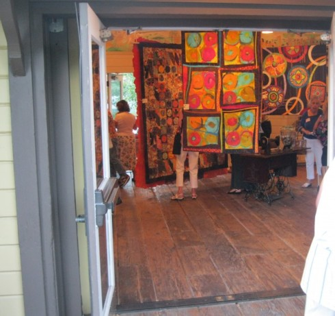Through the door - A Wonderful Quilt Conversation