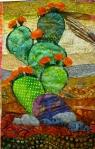 Life in the Desert - detail of nopal cactus
