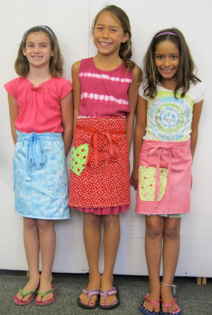 Terrific two-sided aprons