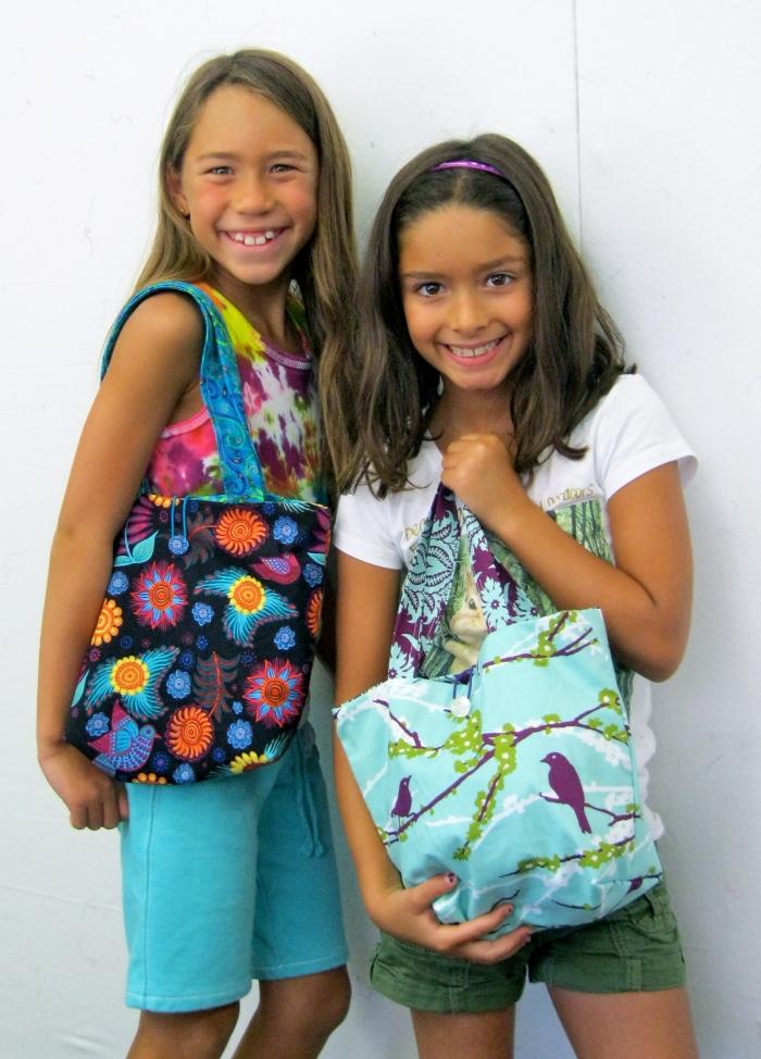 Little Bag Ladies!