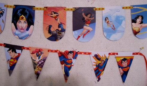 Paper Banners - are you kidding me? Fabulous!