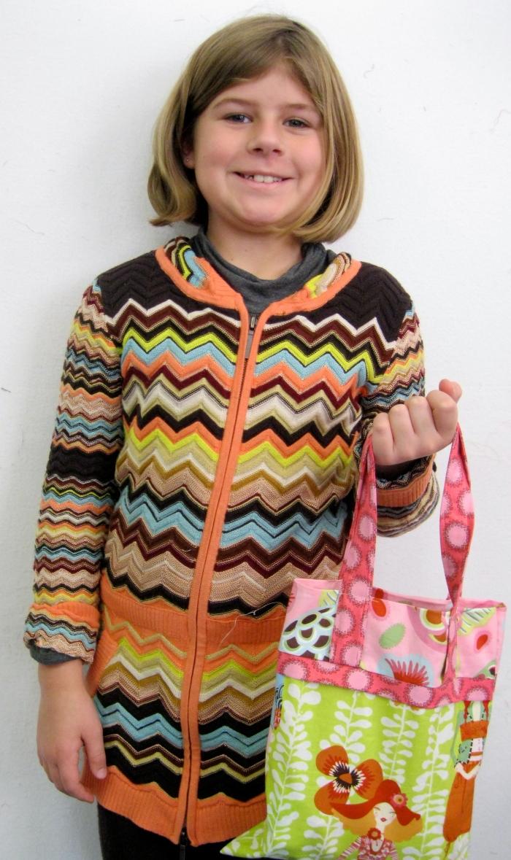Three-color bag - beautiful!