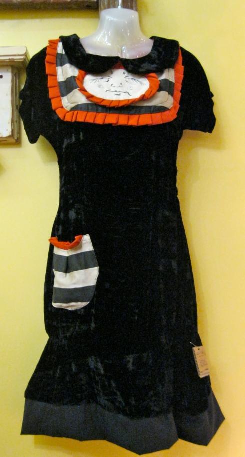 Shayna's remarkable black dress