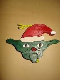 Santa Yoda for my cousin Yancy