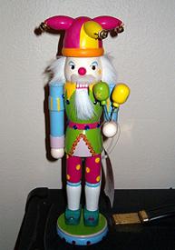Clown Nutcracker