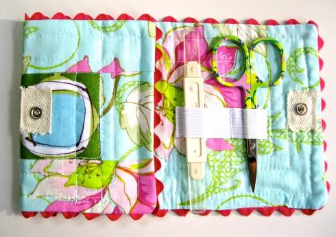 Needle case - folded once