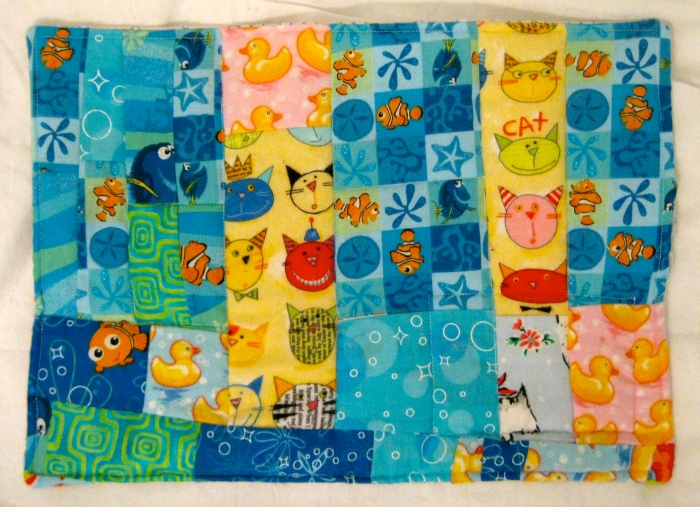Kitty & Duck Quilt, by Lucia, February 2008