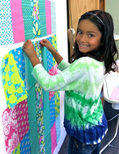 Teaching the Sew Fun Kids Class