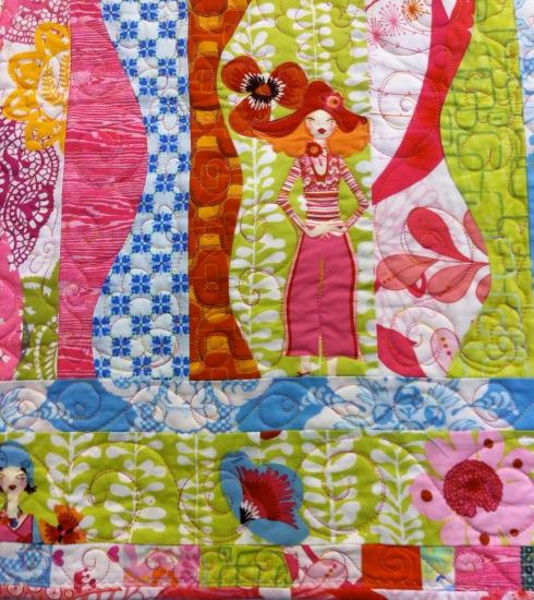 New Goddess quilt