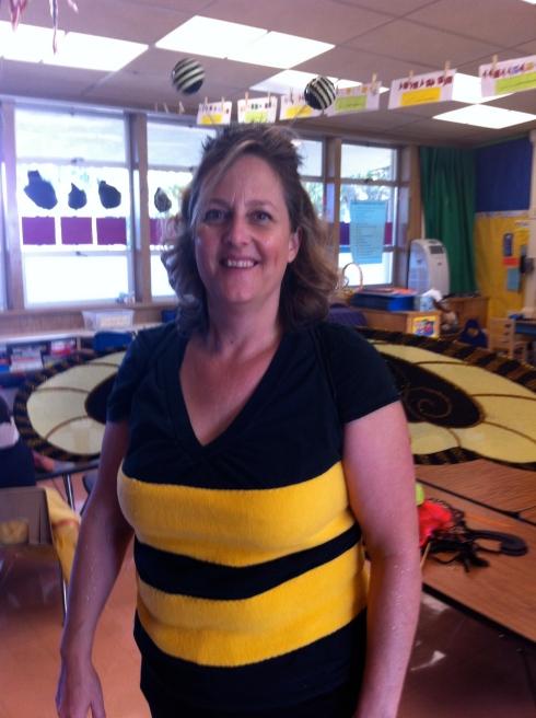 Volunteering at kindergarten