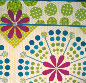 Detail of Quilt made by Piece O Cake Designs