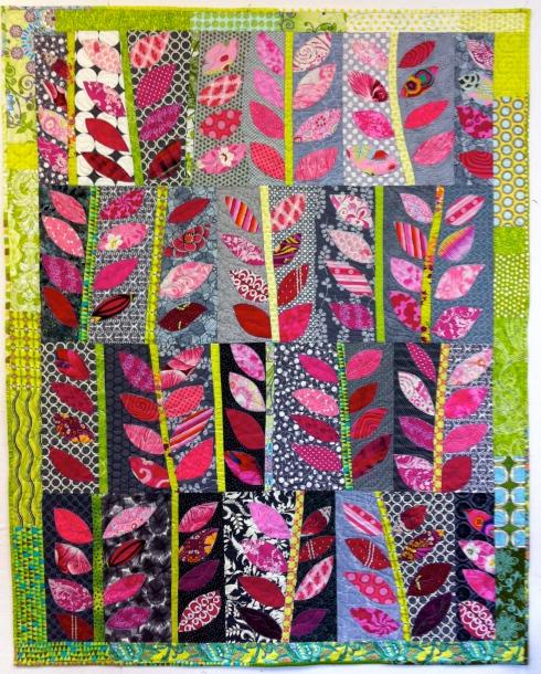 Pink Leaves in the Wind, by Alethea Ballard; 2012
