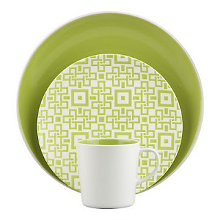 Chase Porcelain Plates from Crate & Barrel