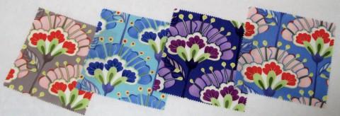 Good Fortune fabric line's Lantern Flowers