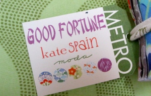 Good Fortune fabric by Kate Spain - yes please!