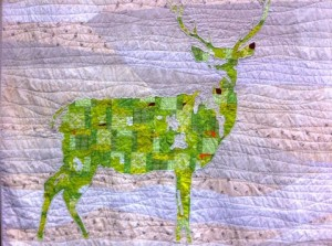 Green Stag detail