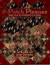 9-Patch Pizzazz, by Judy Sisneros