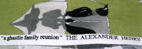 Ghastlie Family Reunion from Alexander Henry Fabrics