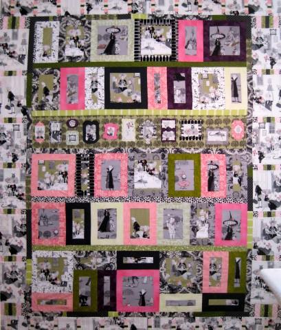 Show Off Ghastlies Quilt, by Alethea Ballard; 2011
