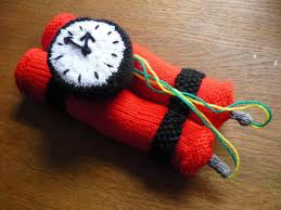 Yarn Bomb from blog.craftzine.com