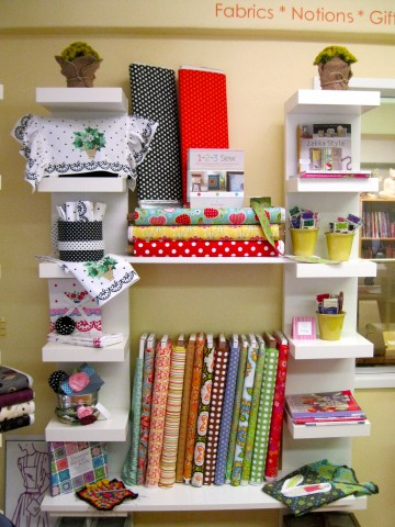 Some pretty fabrics and sewing treats!