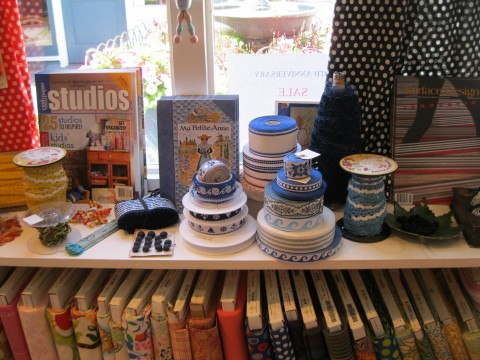 Findings has tons of great ribbons and trims!