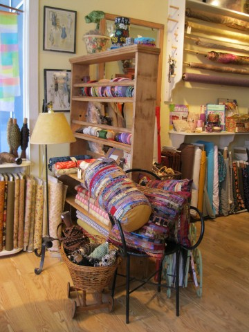 Findings has amazing pillows created by Walnut Creek's own Jane Yuen Corich